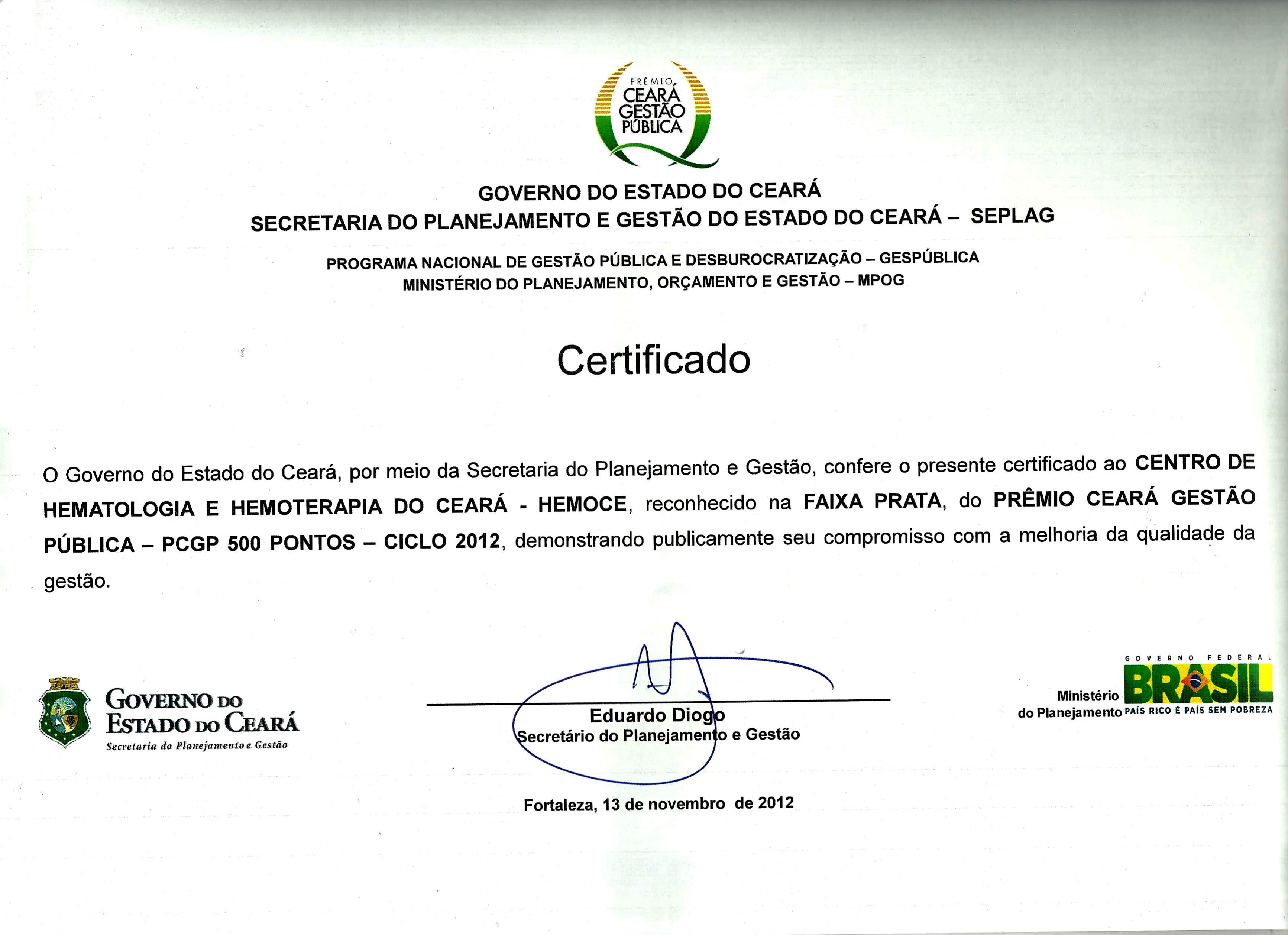 certificado gespblica prata 2012