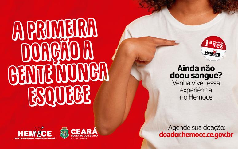 Hemoce realiza campanha para atrair novos doadores de sangue