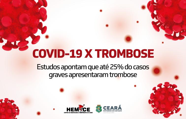 Covid-19 pode provocar mais riscos de trombose venosa; hematologista explica a relação