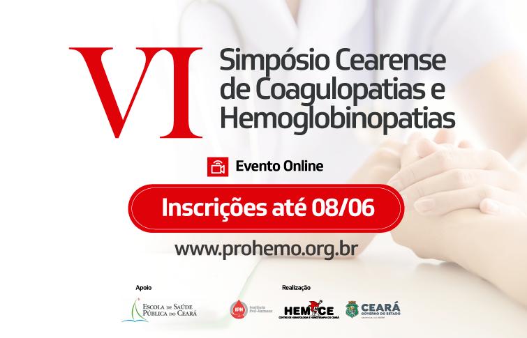 Hemoce promove VI Simpósio Cearense de Coagulopatias e Hemoglobinopatias