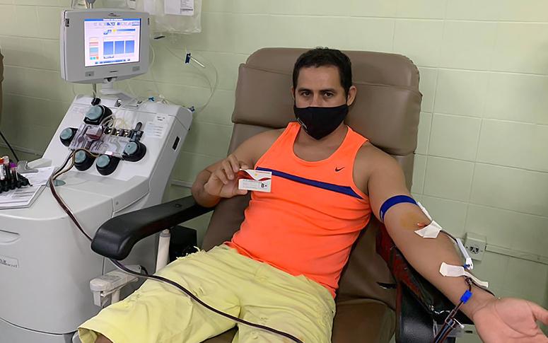 Homens são os que mais doam sangue no Ceará entre os 2% da população doadora