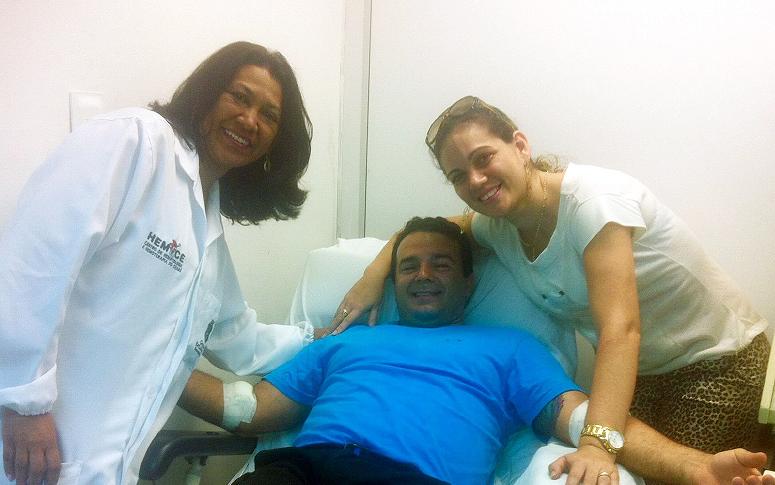 Dia Mundial do Doador de Medula Óssea é celebrado no Hemoce; cadastro pode ser realizado nas unidades do hemocentro